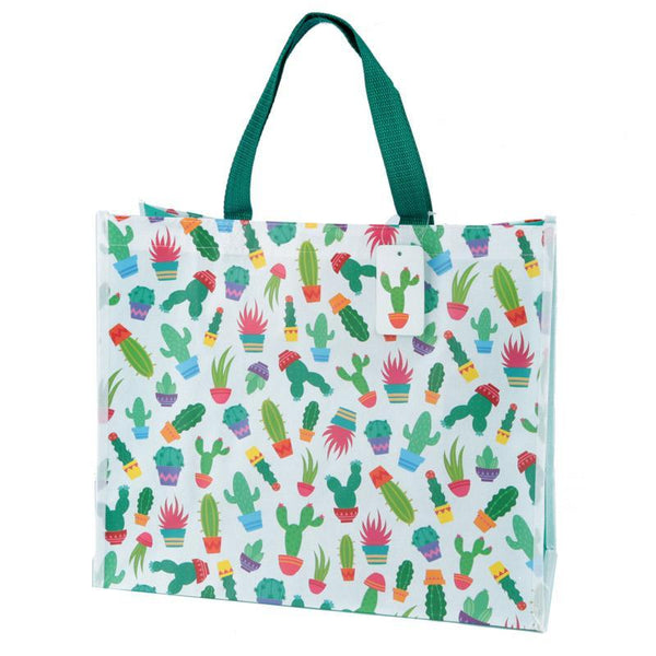 Fun Cactus Design Durable Reusable Shopping Bag