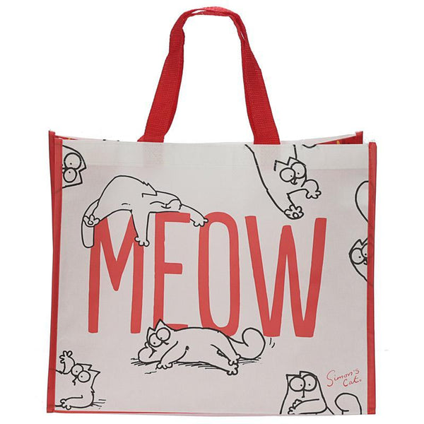 Simon's Cat Meow Design Reusable Shopping Bag - You Had Me at Meow!