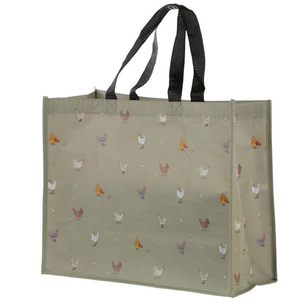 Willow Farm Design Reusable Shopping Bag - Chicken