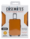 Travel suitcase cover - Large - perfect for ensuring your luggage stands out! - Orange