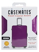 Travel suitcase cover - Large - perfect for ensuring your luggage stands out! - Purple