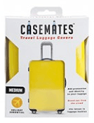 Travel suitcase cover - Large - perfect for ensuring your luggage stands out! -Yellow