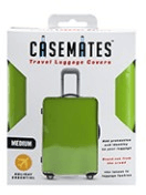 Travel suitcase cover - Small - perfect for ensuring your luggage stands out! - Green