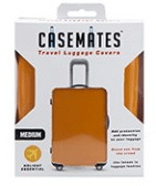 Travel suitcase cover - Small - perfect for ensuring your luggage stands out! - Orange