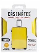 Travel suitcase cover - Small - perfect for ensuring your luggage stands out! - Yellow