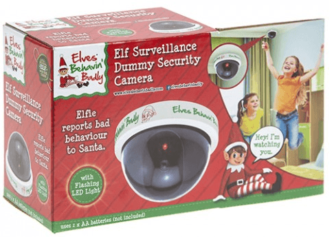 Dummy Child CCTV Elf Cam - Elf Camera Surveillance!
