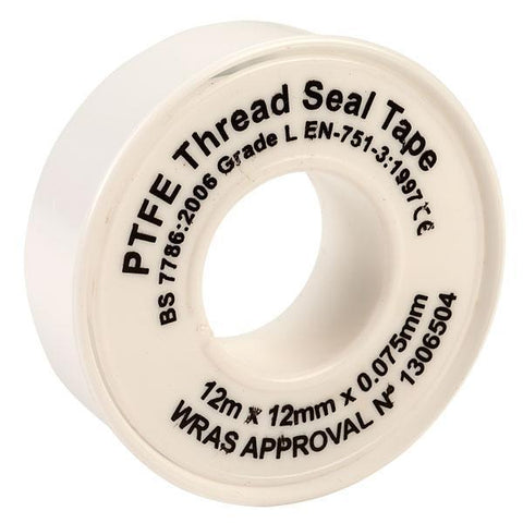 Tape - Pack Of Two - Ultratape Thread Seal Tape 12mm X 12m (PTFE) - PK2