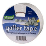 Rhino Ultratape - Gaffer Tape 50mm x 50M - White