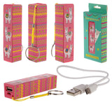 Llama Portable USB Charger Power Bank Key-ring