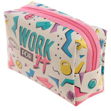 Handy PVC Make Up Toilette Wash Bag - Gym