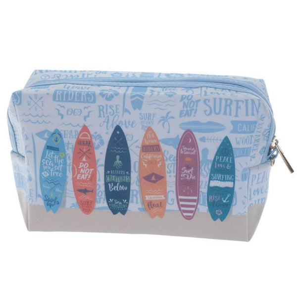 Handy PVC Make Up Toilette Wash Bag - Surfboards