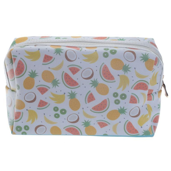 Handy PVC Make Up Toilette Wash Bag - Tropical Fruits
