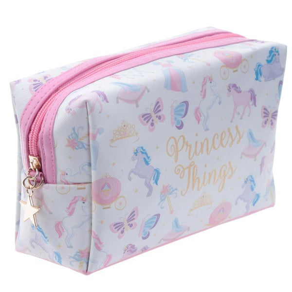 Handy PVC Make Up Toilette Wash Bag - Unicorn Princess