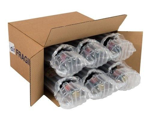 Airsac kit for shipping twelve (12) bottles of lager, beer or cider - Postal Pack