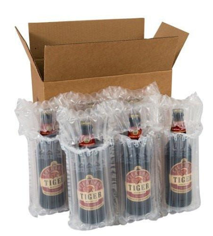 Wine & Beer - Airsac Kit For Shipping Twelve (12) Bottles Of Lager, Beer Or Cider - Postal Pack