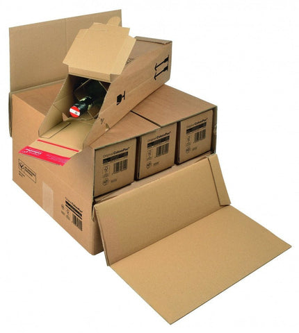 Wine & Beer - Bottle Box Outer (Fits 6 Bottle Boxes) - Postal Pack