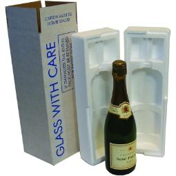 Wine & Beer - One Champagne Bottle Kit - Postal Pack