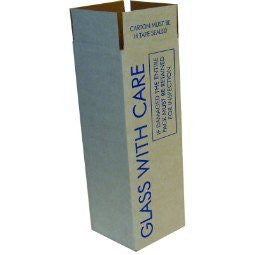 Wine & Beer - One Large Bottle Outer Box - Postal Pack