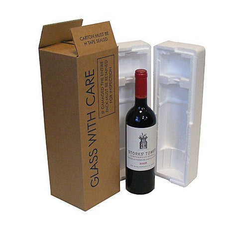 Wine & Beer - One Wine Bottle Kit - Postal Pack