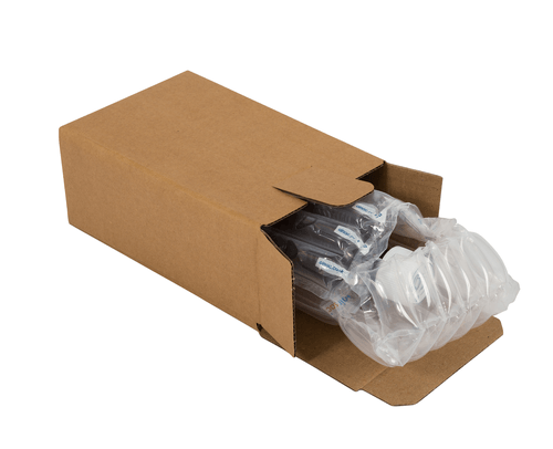 Single Sample/Miniature Bottle Airsac Kit - Postal Pack 500ml