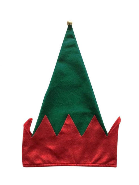 Felt Christmas Elf Hat with Bell