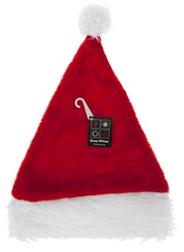 Luxury Plush Santa Hat - Deluxe Large Mens Adult Size