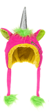 Plush Unicorn Hat - Woolly Hat