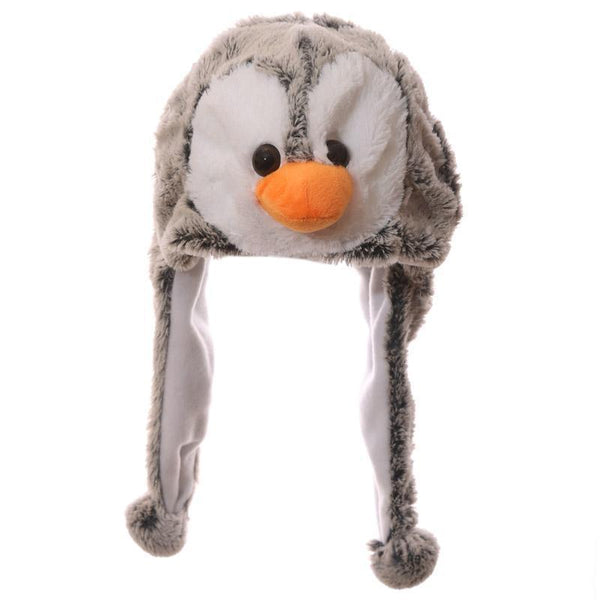 Wild Woolies Plush Penguin Hat - Woolly Hat