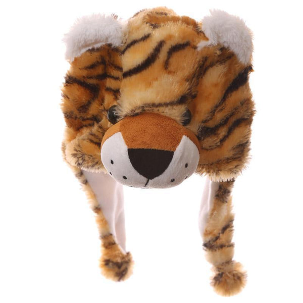 Wild Woolies Plush Tiger Hat - Woolly Hat