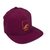 Load image into Gallery viewer, Copper & Burgundy Snapback