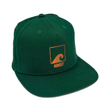 Load image into Gallery viewer, Copper & Green Snapback