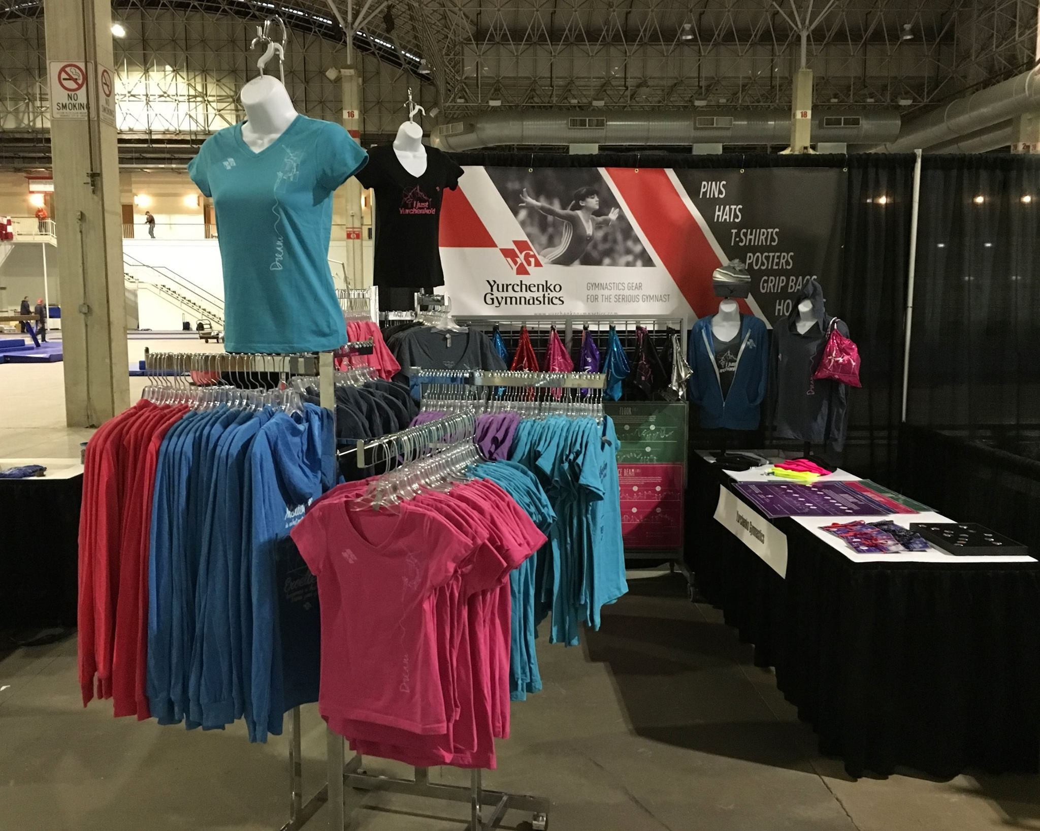 Yurchenko Gymnastics launches at Chicago Style 2016!