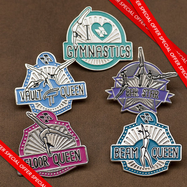 Motivational Pins (set of 4) - Special Offer!!