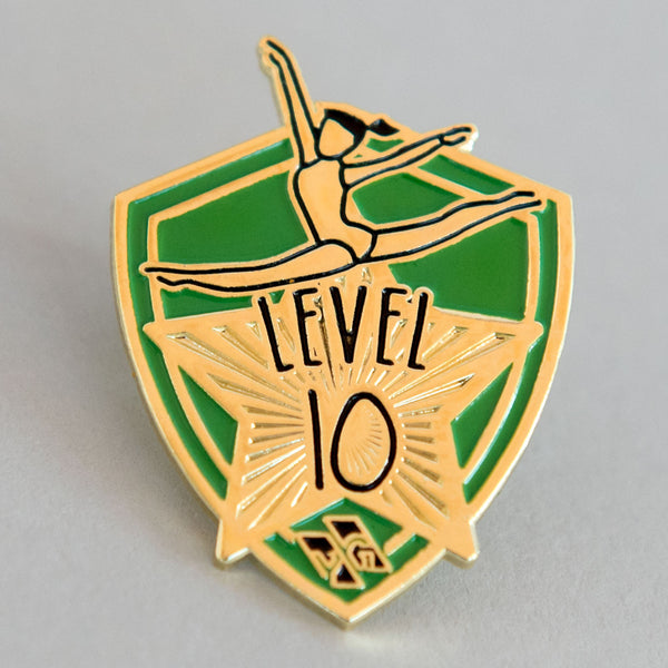 "Gymnastics Pins - ""Level 10"" Pin"