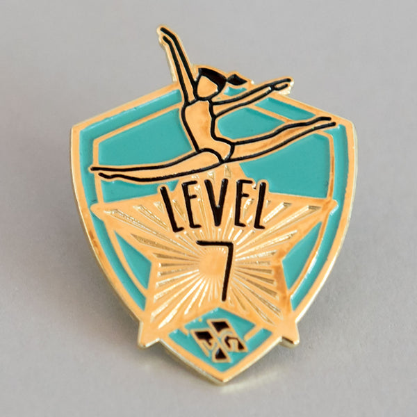 "Gymnastics Pins - ""Level 7"" Pin"