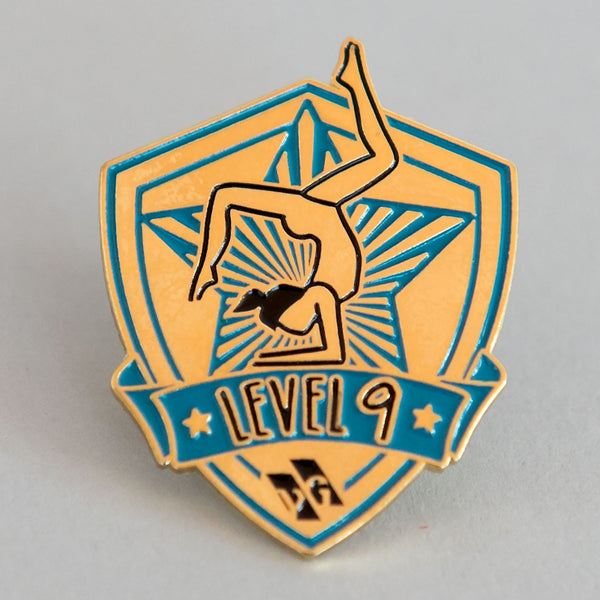 "Gymnastics Pins - ""Level 9"" Pin"