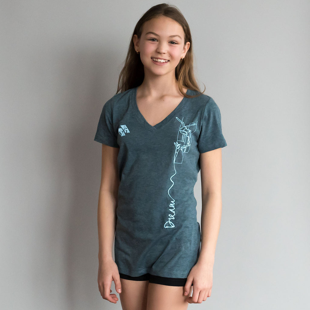 "Gymnastics Shirt - ""Dream"" (Women)"