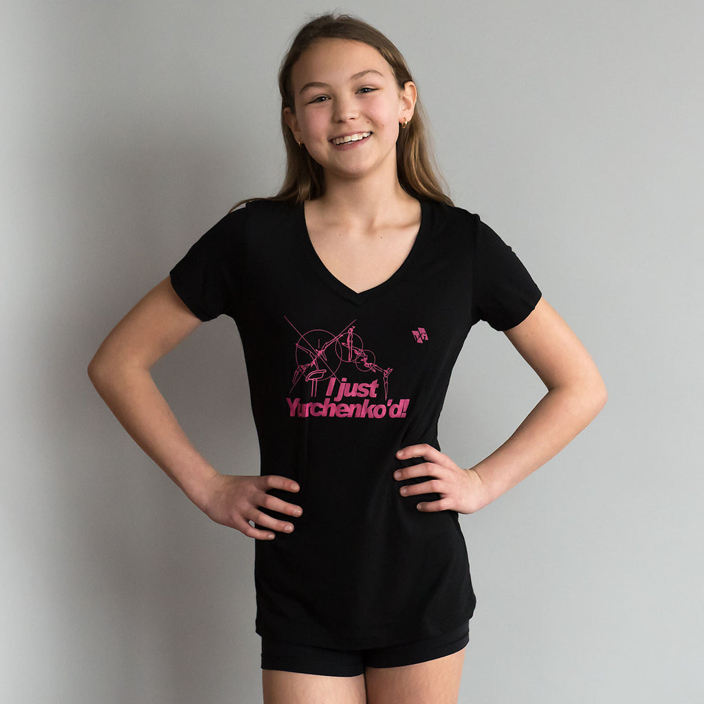 "Gymnastics Shirt - ""I just Yurchenko'd"" (Women)"
