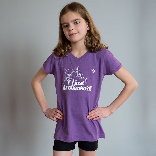 "Gymnastics Shirt - ""I just Yurchenko'd"" (Girls)"