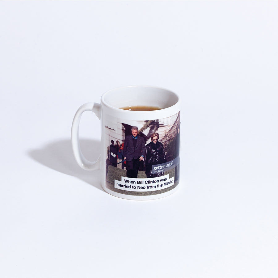 "Semaine x Raven Smith, ""The Clintons"" Mug"