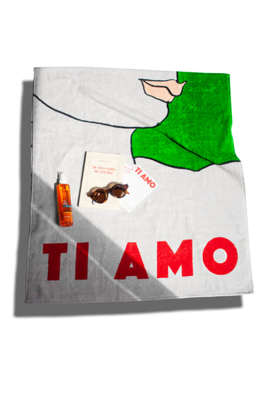 Semaine x Luke Edward Hall - The Ti Amo Beach Towel