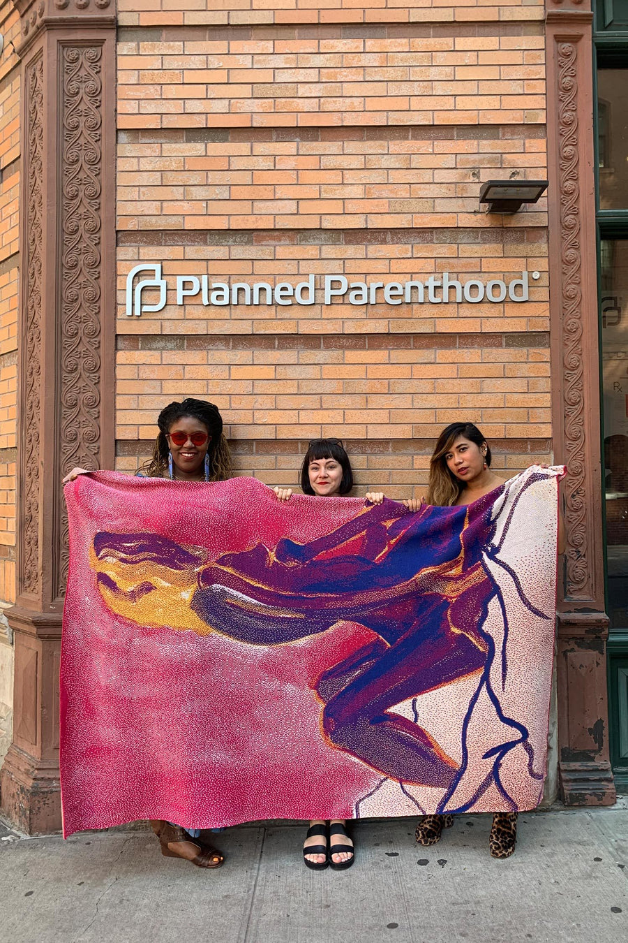 Semaine x Jemima Kirke for Planned Parenthood - The Blanket Satement