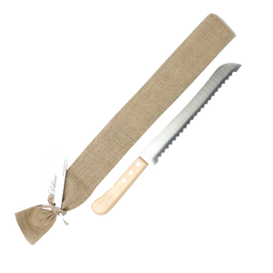Wood Handle Bread Knife