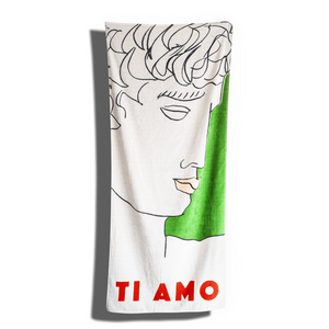 The Ti Amp Beach Towel