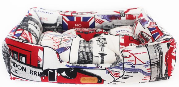 Cama Pet Bag Estampa London