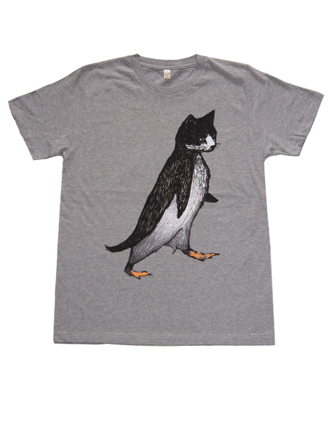 Pengat Grey Organic Cotton T-shirt