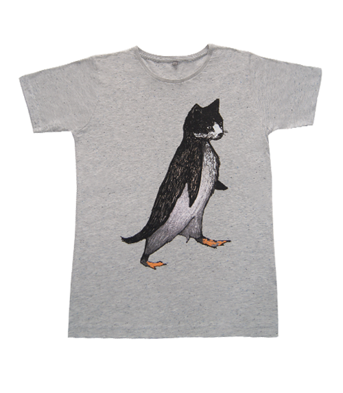 Pengat Speckled Grey Fair Trade T-shirt