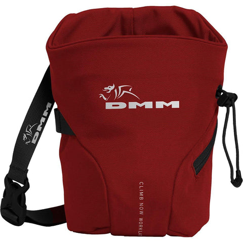 DMM Trad Chalk Bag Red - Elevated Climbing