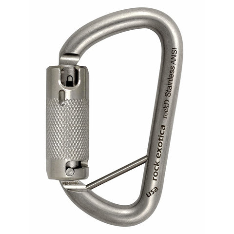 rockD Stainless Steel (ANSI) with Lanyard Pin