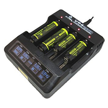 Xtar VP4 Battery Charger - Elevated Climbing
